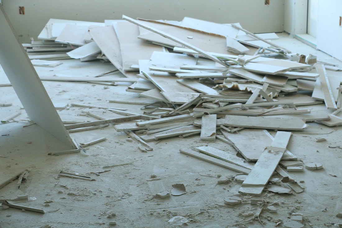 drywall cleanup services